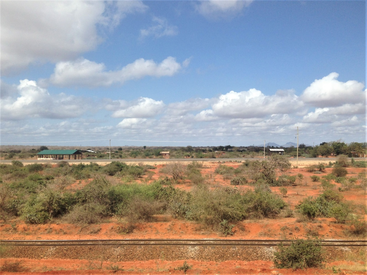For miles at a time, the SGR faces the now defunct Kenya-Uganda Railway tracks.