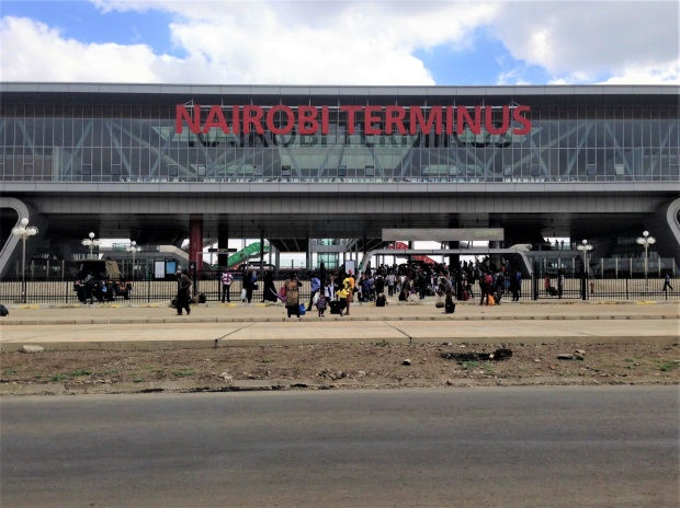 The SGR departs daily from the Syokimau Nairobi Terminus station.