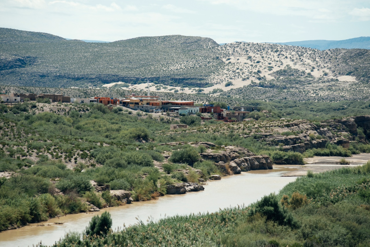 Boquillas del Carmen sits on the edge of the Rio Grande.