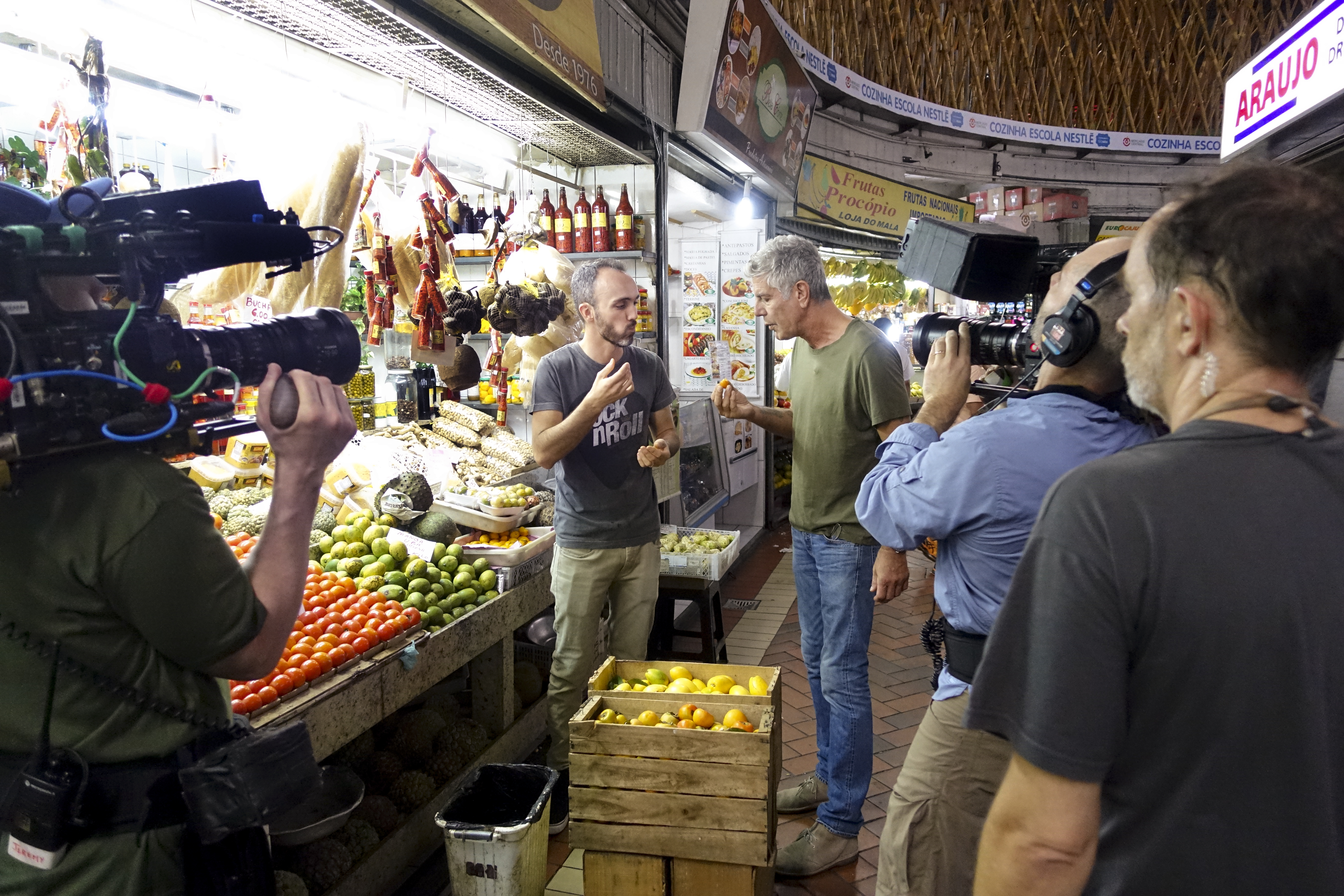 On the Parts Unknown shoot in Minas Gerais. Photos: ZPZ