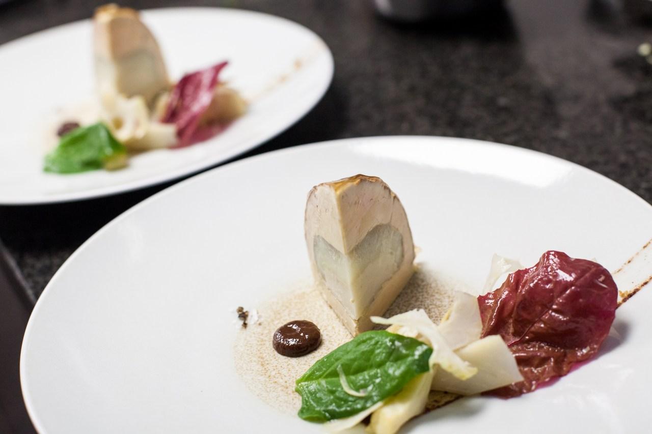 Fond d'artichauts au foie gras at La Mère Brazier.