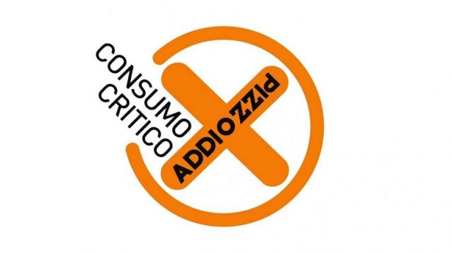 Addiopizzo organization's logo.