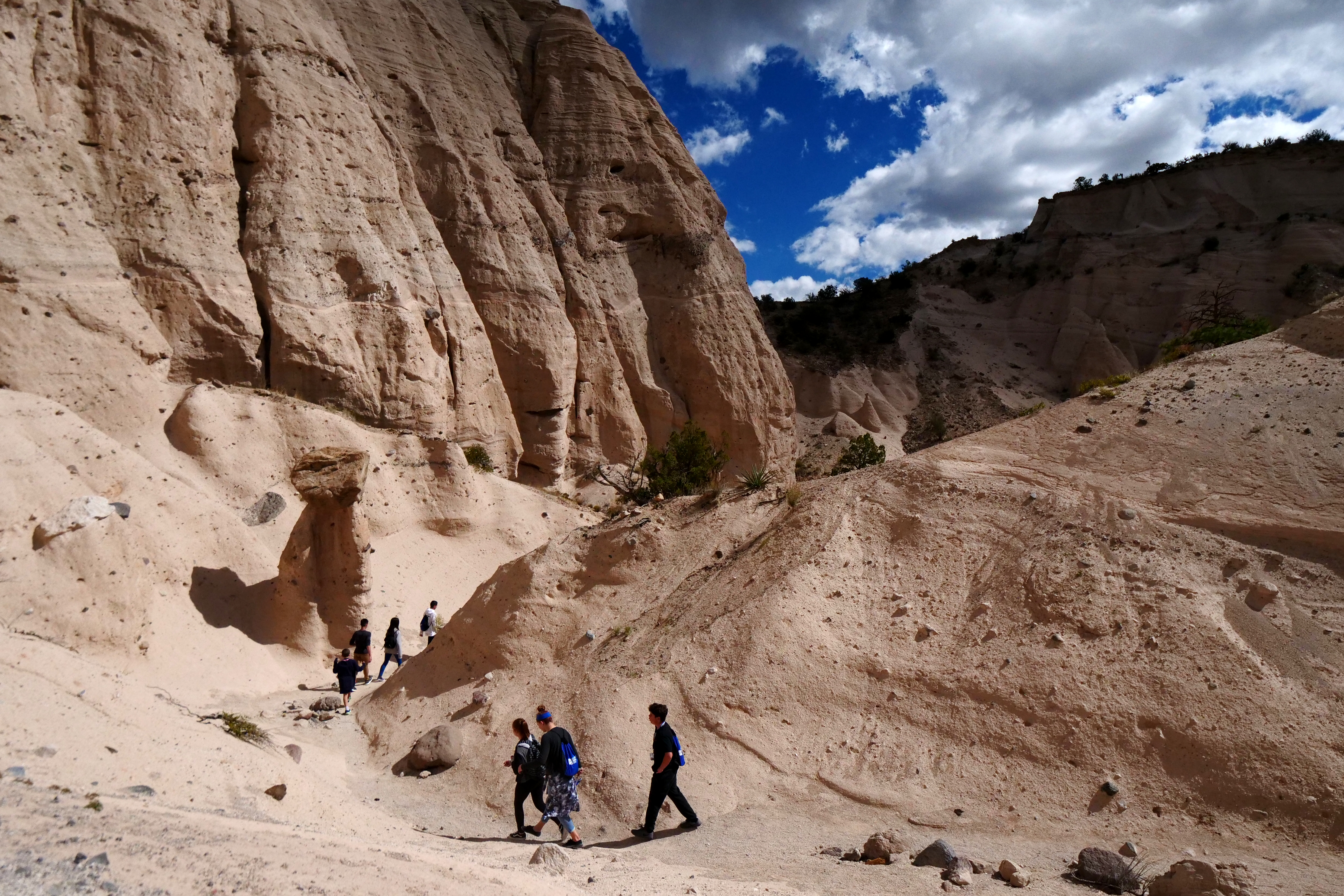 The main loop trail at Kasha-Katuwe Tent Rocks National Monument. Photo by Maddie Meyer via Getty Image.