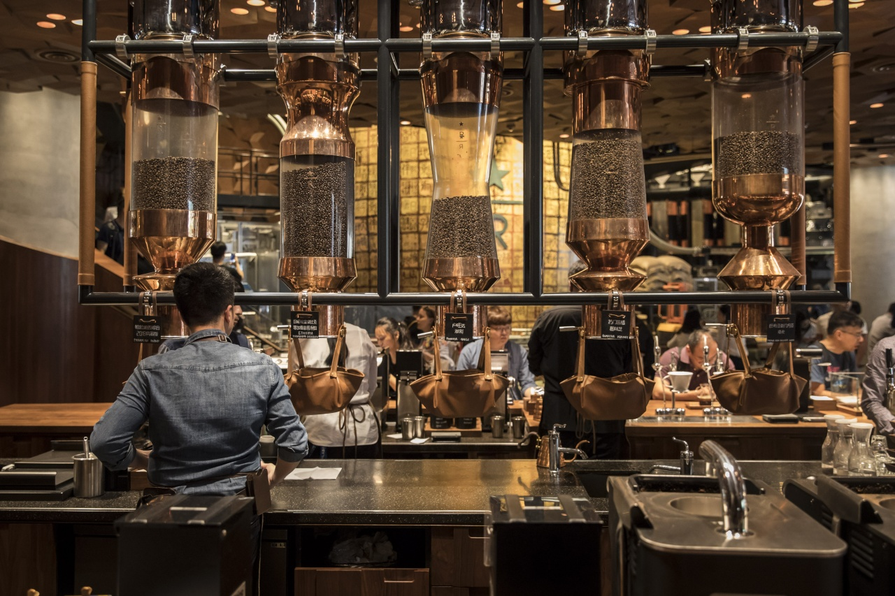 The Starbucks Corp. Reserve Roastery store. Photo by Shen/Bloomberg via Getty Images.