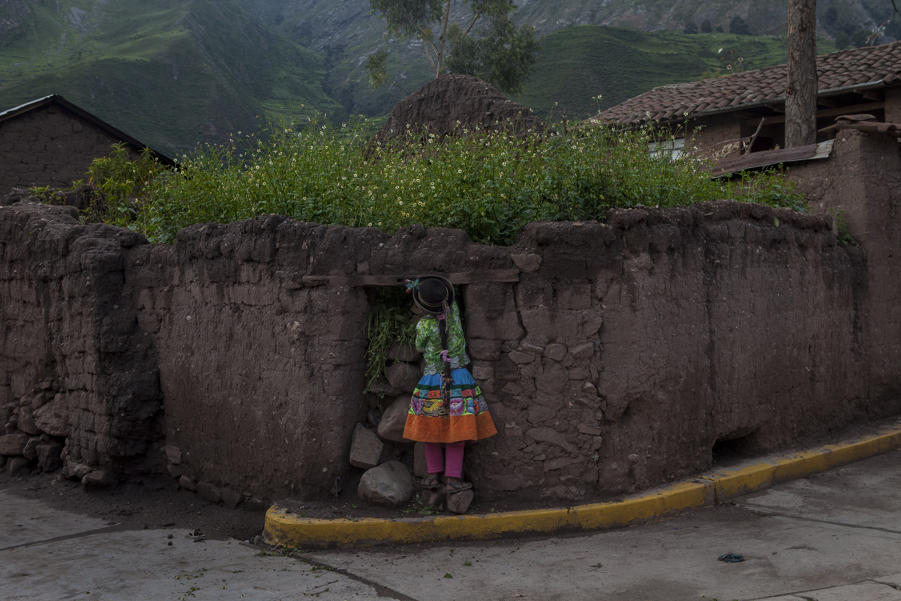The district of Sarhua sits at 3,000 meters in the Peruvian Andes.